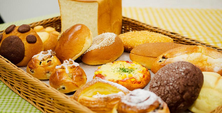 約50種類の色々なパン